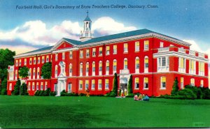 Connecticut Danbury Fairfield Hall Girl's Dormitory State Teachers College