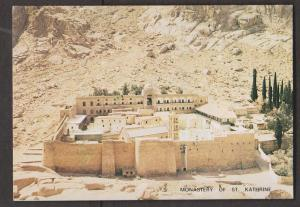 Monastery of St. Kathrine at foot of Mount Sinai - Unused 1960s