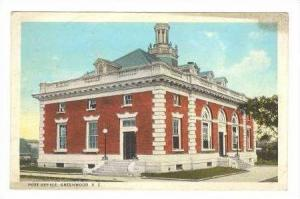 Post Office, Greenwood, South Carolina, 1927