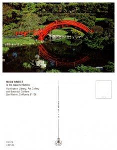 Moon Bridge in the Japanese Garden, San Marino, California