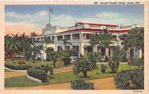 Grand Pacific Hotel, Suva, Fiji, Early Postcard, Unused