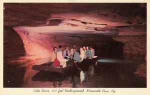 Postcard Echo River Mammoth Cave Kentucky