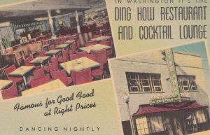 WASHINGTON D.C. , 1930-40s ; Ding How Restaurant