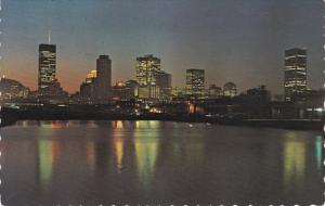 Sunset in Montreal Harbour, MONTREAL, Quebec, Canada, PU-1969