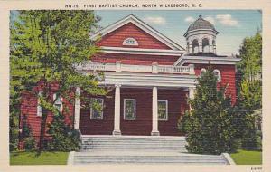First Baptist Church, North Wilkesboro, North Carolina, P30-40s
