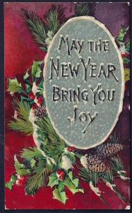 May the New Year Bring you Joy used c1910