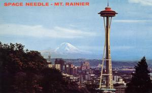 WA - Seattle, 1962. Seattle World's Fair (Century 21 Exposition). Space Needl...