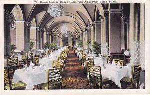 Florida Palm Beach The Queen Isabella Dining Room The Alba Palm Beach