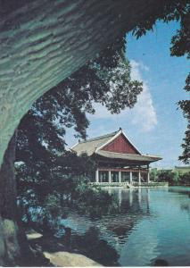 Gyeonghoe-ru in Gyeongbog Palace, SEOUL, South Korea, 50-70's