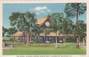 Tea House , Japanese Gardens , Eagles Nest , CLEARWATER , Florida , 30-40s