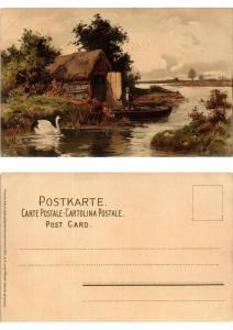 CPA Auf lichten Pfaden Meissner & Buch Litho Serie 1265 (730452)