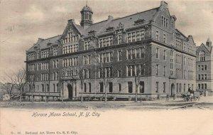 Horace Mann School, New York City, Early Postcard, Undivided Back, Unused