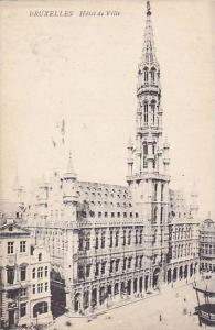 Hotel De Ville, Bruxelles, Belgium, 1900-1910s