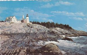 LIGHTHOUSE , 50-60s ; Pemaquid Point , Maine #2