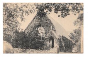 Haddonfield NJ Episcopal Chuch 1948 Vintage Collotype New Jersey Postcard