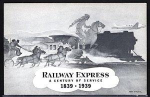 USA Railway Express Exhibit Century of Service New York World's Fair 1939
