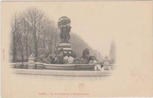 Sculpture by Jean-Baptiste Carpeaux, Fontaine de l'Observatoire, 6th Arrondis...