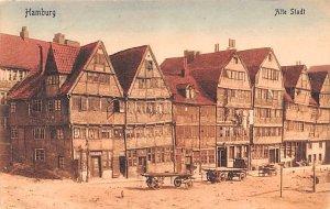 Alte Stadt Hamburg Germany Postal Used Unknown, Missing Stamp
