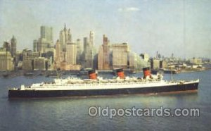 Cunard R.M.S. Queen Mary Ship Shps, Ocean Liners, Unused