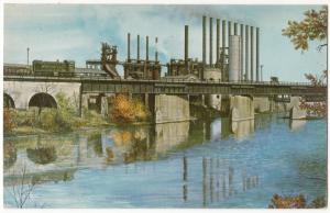 The Pittsburgh & Lake Erie Railroad Company, Postcard