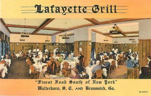 Lafayette Grill Walterboro SC South Carolina & Brunswick GA