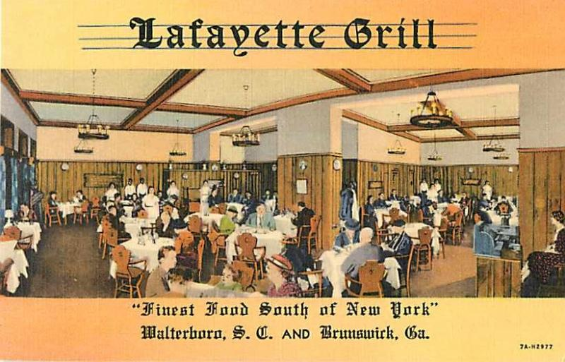 Lafayette Grill Walterboro SC South Carolina & Brunswick GA