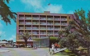 Bermuda Pembrook Parish Front Entrance Of Bermudian Hotel 1969