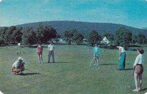 3rd Hole , Fernwood Golf Courses, Poconos , Pennsylvania , 1950s