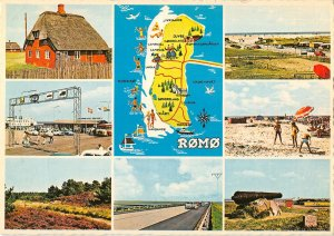 B110500 Romo Map, multiviews Houses Village Beach Promenade Cannon Plage