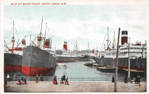 New Brunswick  Saint John   Ships berthed at   Slip at Sand Point