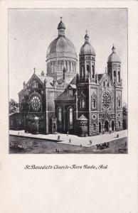 TERRE HAUTE, Indiana, 1901-07; St. Benedict's Church