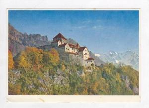 Castle Vaduz, Residence Of Ruling Prince Of Liechtenstein, 1940-1960s