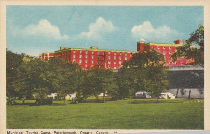 PETERBOROUGH , Ontario , 1910-30s ; Municipal Tourist Camp