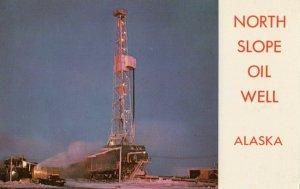 North Slope Oil Well , Alaska , 1960-80s