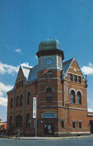 Bibliotheque Municipale et Centre Touristique, Coaticook, Quebec, Canada, PU-...