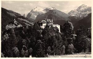 Schloss Mittersill Castle Chateau Mountains Panorama