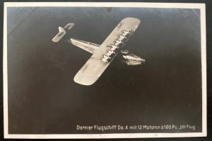 Mint Real Picture Postcard Dornier DOX Giant Seaplane In Bodensee