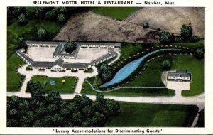 Mississippi Natchez Bellemont Motor Hotel & Restaurant
