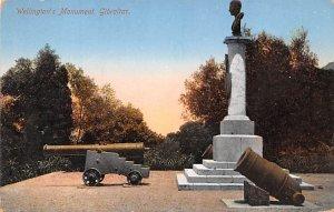 Wellington's Monument Gibraltar Unused
