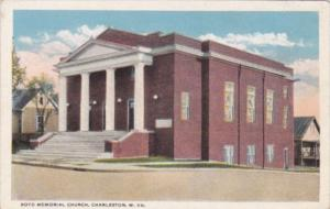 Church Boyd Memorial Church Charleston West Virginia Curteich