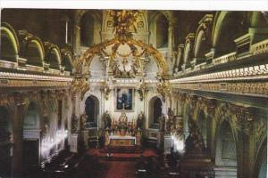 Canada Interior of the Basilica Quebec