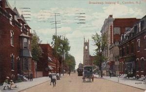 New Jersey Camden Broadway Looking South 1910