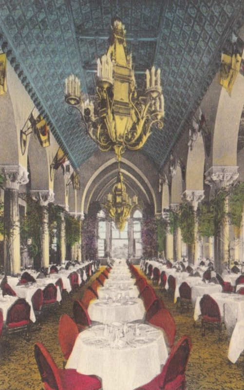 BOCA RATON, Florida, 1900-10s; Main Dining Room, Boca Raton Club