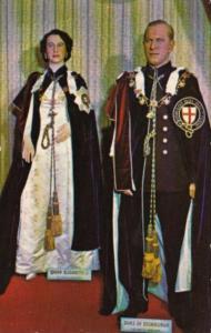 Queen Elizabeth II & Prince Philipp Canadian Wax Gallery Banff Alberta Canada