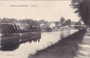 Garnat-sur-Engievre , France, 1900-10s : Le Port