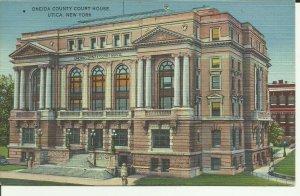 Utica,New York, Oneida County Court House