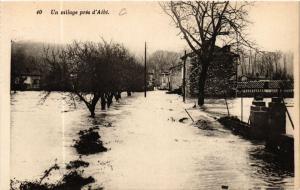 CPA Un village pres d'ALBI (477513)
