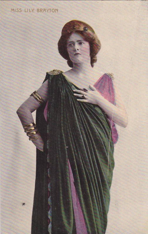 Theatre: Actress Lilly Brayton, 1900-1910s
