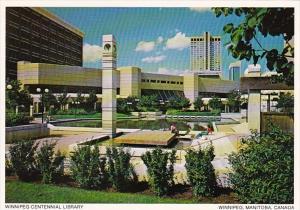 Canada Winnipeg Centennial Library