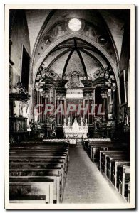 Postcard Modern Entrevaux L & # 39Interieur From I & # 39Eglise